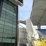 ploiesti stadionul ilie oana doborat de zapada