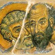 pomenirea sfintilor apostoli pentru si pavel