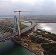 cum arata noul pod hobanat care traverseaza canalul dunare - marea neagra
