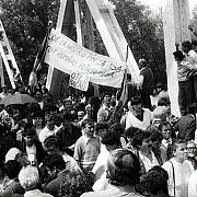 podul de flori din 6 mai 1990 doar o amintire