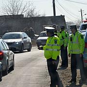 invazie de politisti la magurele