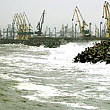 porturile maritime din constanta si agigea inchise din cauza vantului puternic