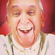 selfie cu papa francisc