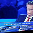 intrebare despre klaus iohannis la vrei sa fii milionar germania