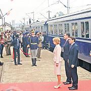 principesa margareta a mers cu trenul regal la alba iulia