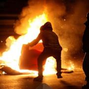 proteste cu distrugeri materiale semnificative la bucuresti