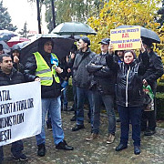 peste 500 de persoane au protestat la ploiesti fata de modificarea codului fiscal