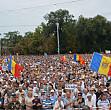 un nou protest in centrul chisinaului sunt asteptati un numar record de oameni