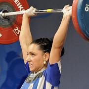 roxana cocos medalie de argint la haltere
