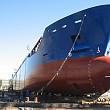 o nava-gigant a ajuns in portul constanta