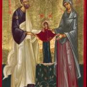 sfintii si dreptii dumnezeiesti parinti ioachim si ana