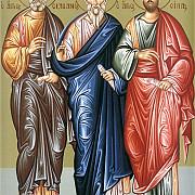sfintii apostoli sila silvan crescent epenet si andronic