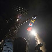 sua ataca o baza a regimului din siria in urma atacului chimic de la khan sheikhoun