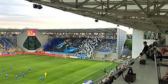 foto finala cupei romaniei- primul meci cu spectatori pe stadionul ilie oana din ploiesti