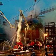 incendiu la un submarin nuclear rusesc