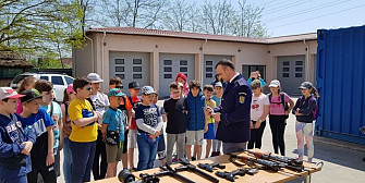 scoala altfel la politia de frontiera sulina foto