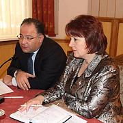 delegatia din georgia in vizita la calm