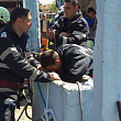 copilul care a cazut intr-un put adanc de 16 metri a fost salvat