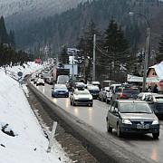 trafic aglomerat pe valea prahovei