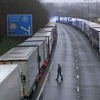 romani afectati de blocajele de trafic pe canalul manecii din cauza coronavirusului