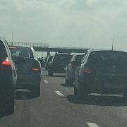 trafic intens pe a2 si dn1