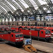 greva in transportul feroviar din germania
