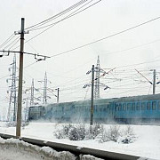 trenuri blocale si localitati fara energie electrica din cauza caderilor de zapada