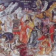 sfintii 14000 de prunci ucisi din porunca lui irod