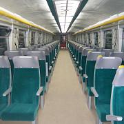 brazilienii se plimba cu vagoane de tren romanesti
