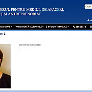mihaela voicila presedintele psd campina secretar de stat in ministerul pentru mediul de afaceri