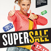 super sale weekend la ploiesti shopping city