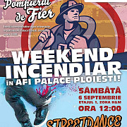 weekend incendiar in afi palace ploiesti