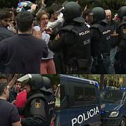 tensiuni in catalonia peste 300 de raniti s-au folosit gloante de cauciuc