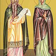 sfantul proroc zaharia si dreapta elisabeta parintii sfantului ioan botezatorul