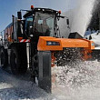 peste 71000 de metri cubi de zapada transportati in afara bucurestiului