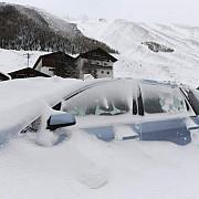landul vorarlberg din austria izolat din cauza zapezii