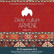 zilele culturii armene la bucuresti