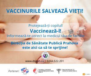 Vaccinurile salveaza vieti