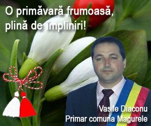 O primavara frumasa, plina de impliniri - Vasile Diaconu - primar comuna Magurele