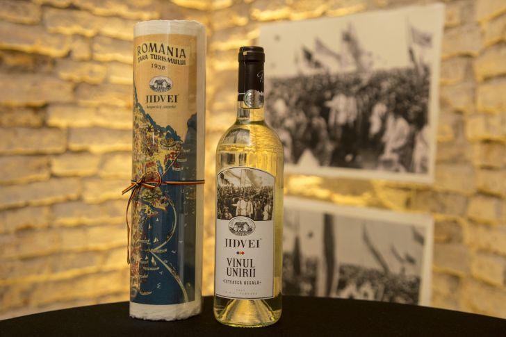 vinul unirii produsul aniversar lansat de jidvei