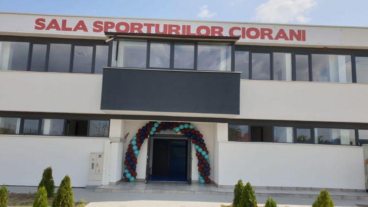 foto sala de sport de la ciorani inaugurata oficial