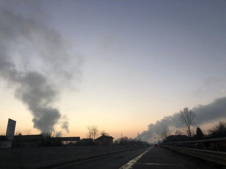 poluare in ploiesti inca din prima zi a anului 2019 foto video