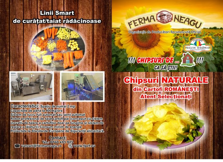 chipsuri romanesti produse numai din cartofi autohtoni