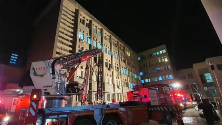 incendiu la sectia ati a spitalului din piatra neamt 10 morti alte 7 persoane in stare critica