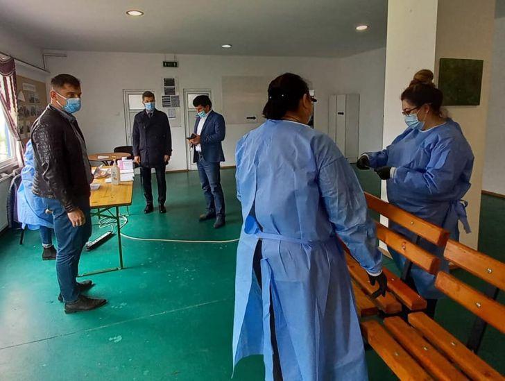 s-a deschis centrul de vaccinare de la ciorani vaccinul folosit pfizer