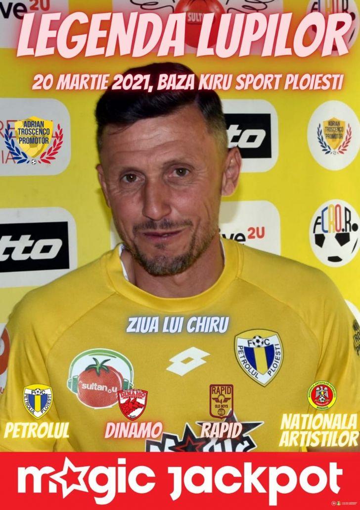legenda lupilor turneul lui dani chirita aduce la ploiesti nume grele din fotbalul romanesc