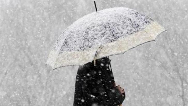 lapovita ninsoare si polei pana marti la ora 2100 vremea va fi deosebit de rece in toata tara